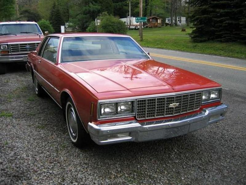 Chevrolet Impala купе, 1980, 6 поколение [3-й рестайлинг] - отзывы, фото и характеристики на Car.ru