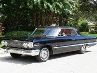 Chevrolet Impala, 3 поколение [2-й рестайлинг], Купе, 1963