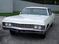 Chevrolet Impala, 4 поколение [2-й рестайлинг], Седан, 1967