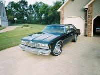 Chevrolet Impala, 1977, 6 поколение, Седан