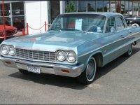 Chevrolet Impala, 3 поколение [3-й рестайлинг], Седан, 1964
