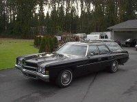 Chevrolet Impala, 1972, 5 поколение [рестайлинг], Kingswood универсал