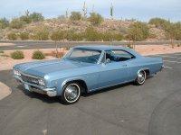 Chevrolet Impala, 1966, 4 поколение [рестайлинг], Купе