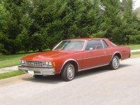 Chevrolet Impala, 1977, 6 поколение, Купе