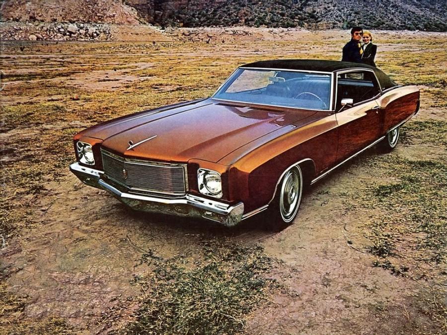 Chevrolet Monte Carlo купе, 1971, 1 поколение [рестайлинг] - отзывы, фото и характеристики на Car.ru