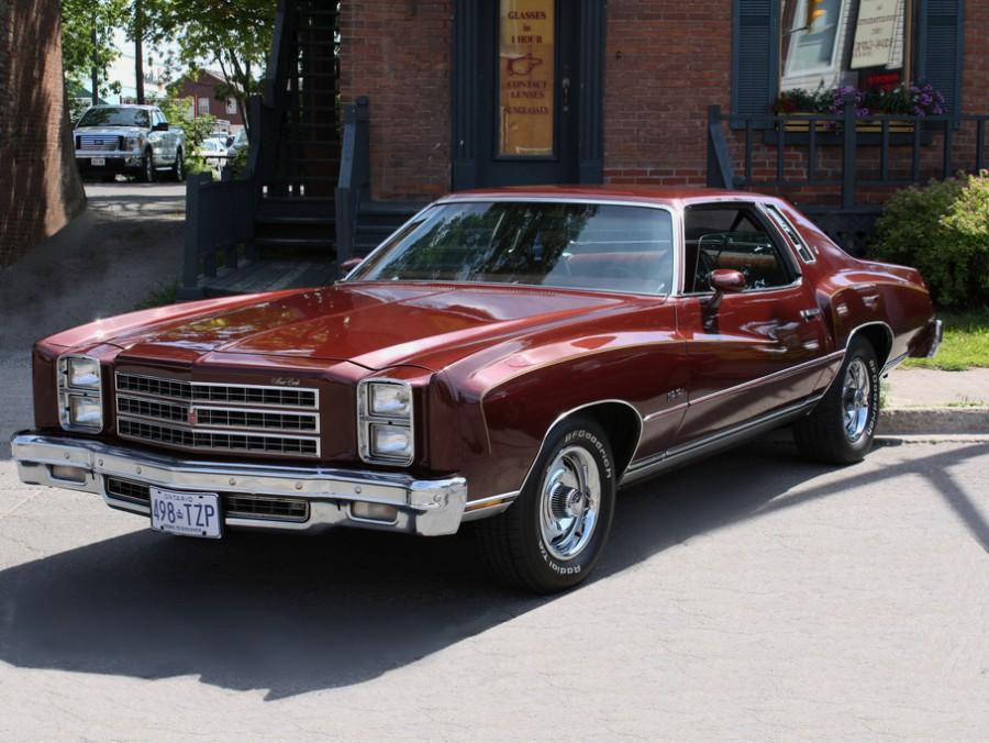 Chevrolet Monte Carlo купе, 1976, 2 поколение [3-й рестайлинг] - отзывы, фото и характеристики на Car.ru