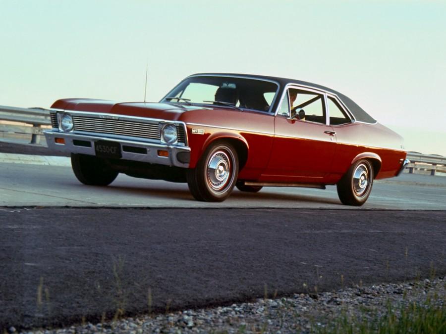 Chevrolet Nova купе, 1968, 3 поколение - отзывы, фото и характеристики на Car.ru
