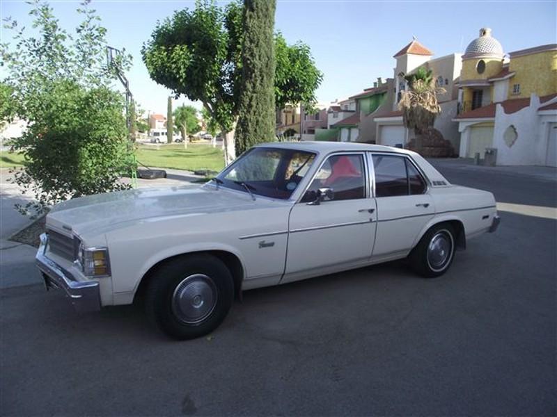 Chevrolet Nova Concours седан, 1978, 4 поколение [3-й рестайлинг] - отзывы, фото и характеристики на Car.ru