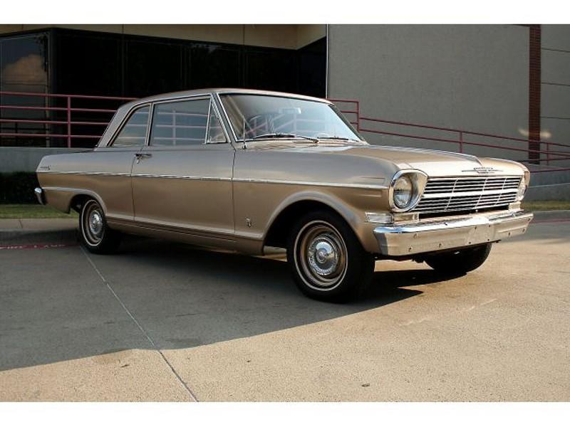 Chevrolet Nova купе, 1962, 1 поколение - отзывы, фото и характеристики на Car.ru