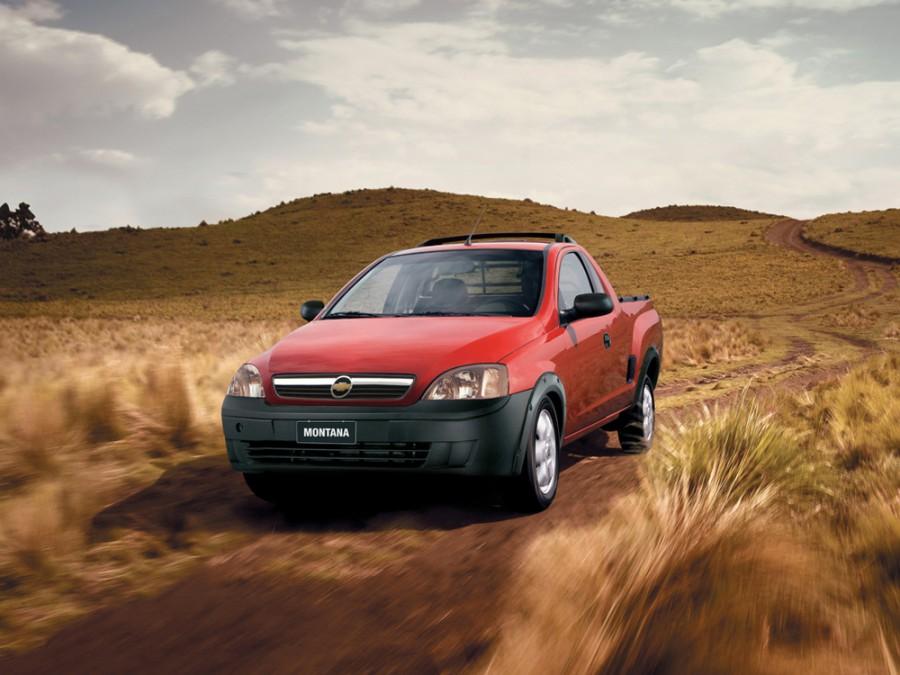 Chevrolet Montana пикап, 2003–2010, 1 поколение - отзывы, фото и характеристики на Car.ru