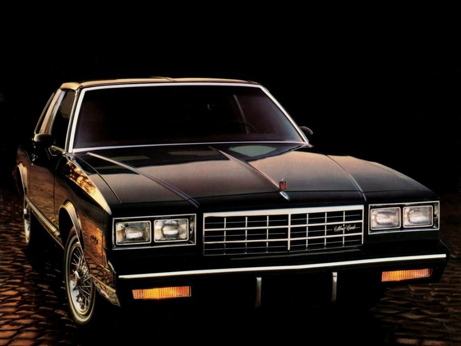 Chevrolet Monte Carlo тарга, 1983–1985, 4 поколение [2-й рестайлинг] - отзывы, фото и характеристики на Car.ru