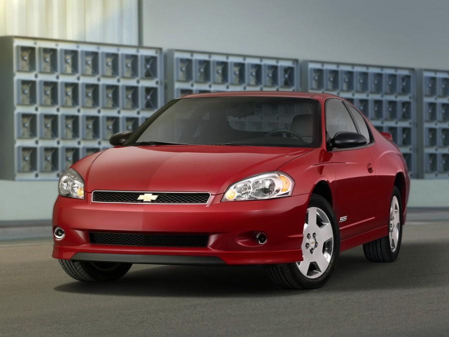Chevrolet Monte Carlo купе, 2006–2007, 6 поколение [рестайлинг] - отзывы, фото и характеристики на Car.ru