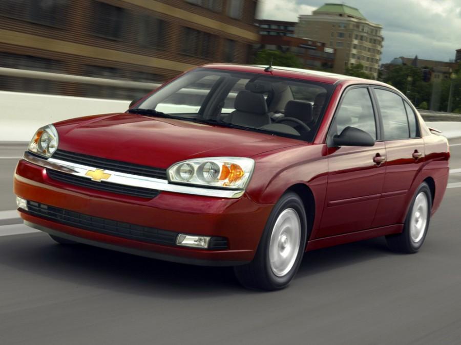 Chevrolet Malibu седан, 2004–2006, 3 поколение - отзывы, фото и характеристики на Car.ru