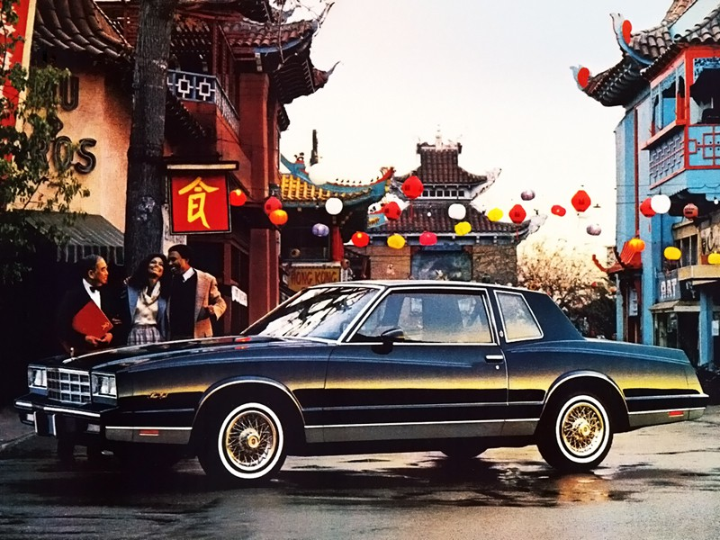 Chevrolet Monte Carlo купе, 1981, 4 поколение - отзывы, фото и характеристики на Car.ru