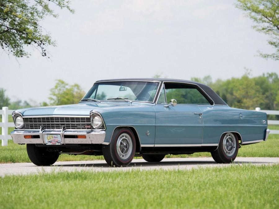 Chevrolet Nova купе, 1967, 2 поколение [рестайлинг] - отзывы, фото и характеристики на Car.ru