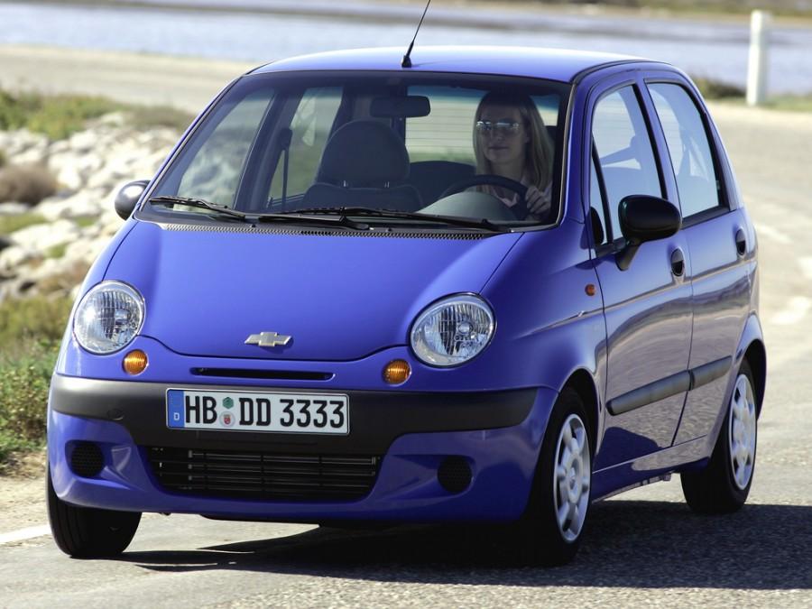 Chevrolet Matiz хетчбэк, 2004–2005, 1 поколение - отзывы, фото и характеристики на Car.ru