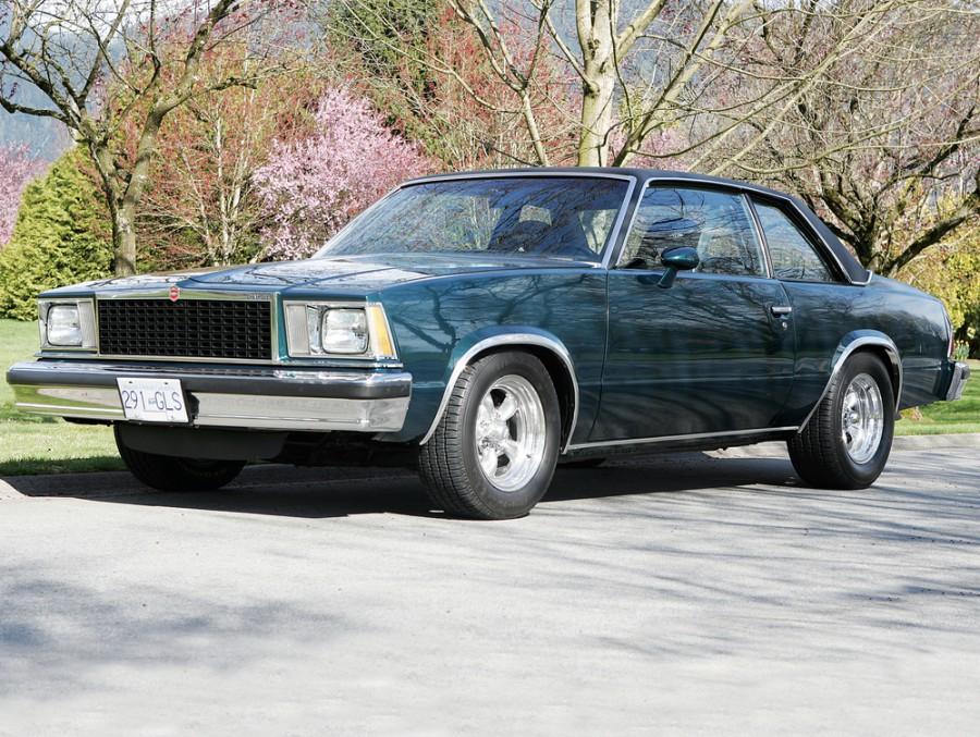 Chevrolet Malibu купе 2-дв., 1978, 1 поколение - отзывы, фото и характеристики на Car.ru