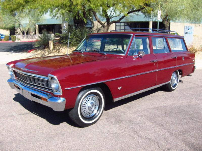 Chevrolet Nova универсал, 1966, 2 поколение - отзывы, фото и характеристики на Car.ru