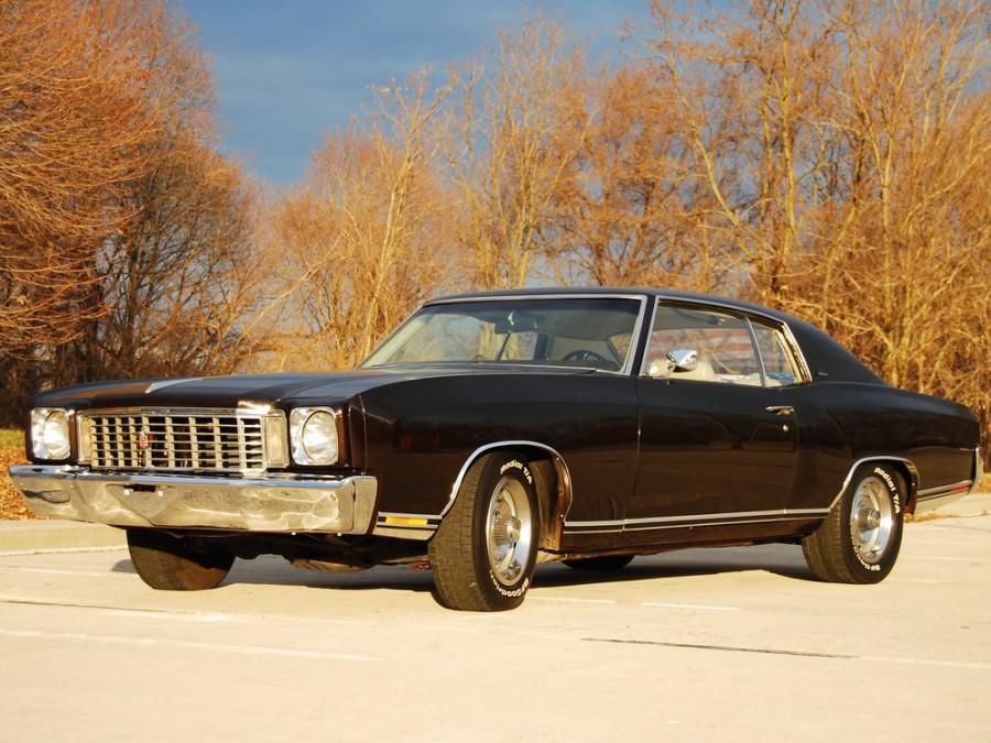 Chevrolet Monte Carlo купе, 1972, 1 поколение [2-й рестайлинг] - отзывы, фото и характеристики на Car.ru