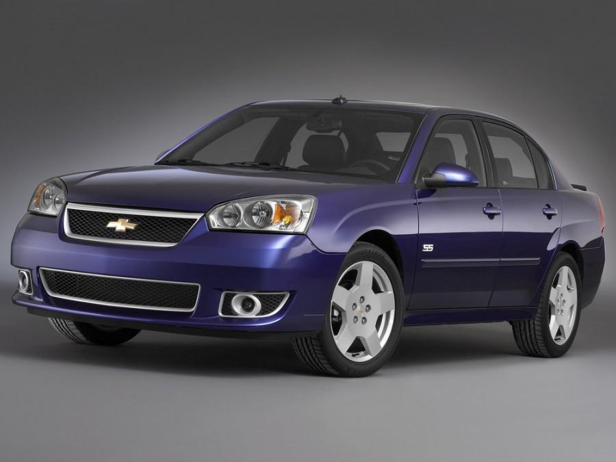 Chevrolet Malibu SS седан 4-дв., 2006–2007, 3 поколение [рестайлинг] - отзывы, фото и характеристики на Car.ru