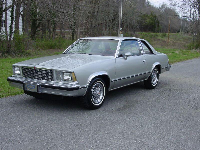 Chevrolet Malibu Classic купе 2-дв., 1978, 1 поколение - отзывы, фото и характеристики на Car.ru