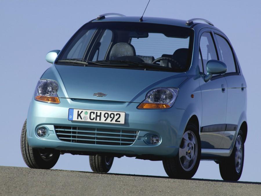 Chevrolet Matiz хетчбэк, 2005–2008, 2 поколение - отзывы, фото и характеристики на Car.ru