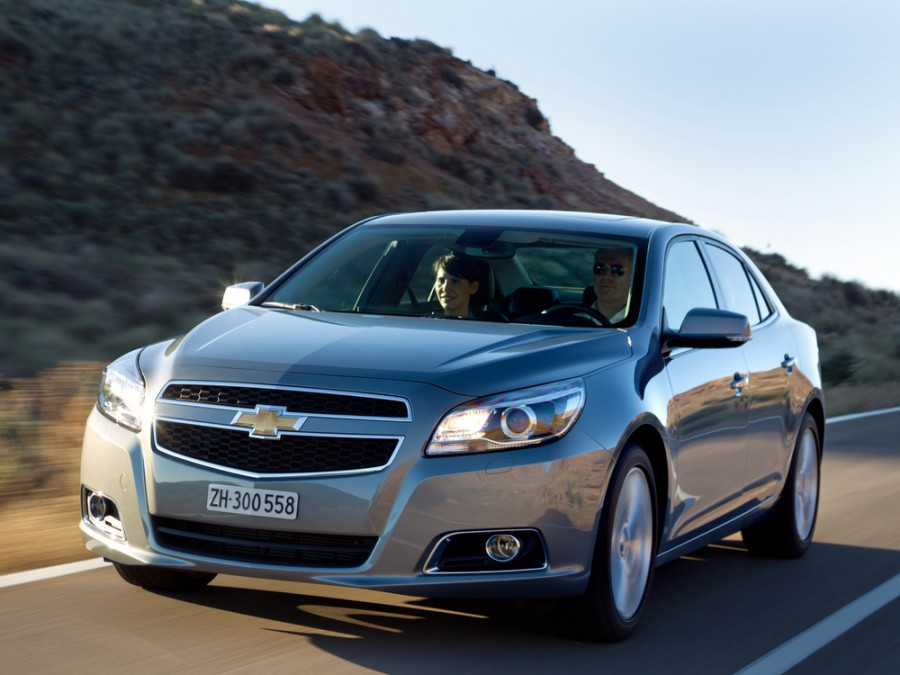 Chevrolet Malibu седан, 2012–2016, 5 поколение - отзывы, фото и характеристики на Car.ru