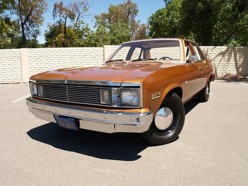 Chevrolet Nova седан, 1979, 4 поколение [4-й рестайлинг] - отзывы, фото и характеристики на Car.ru