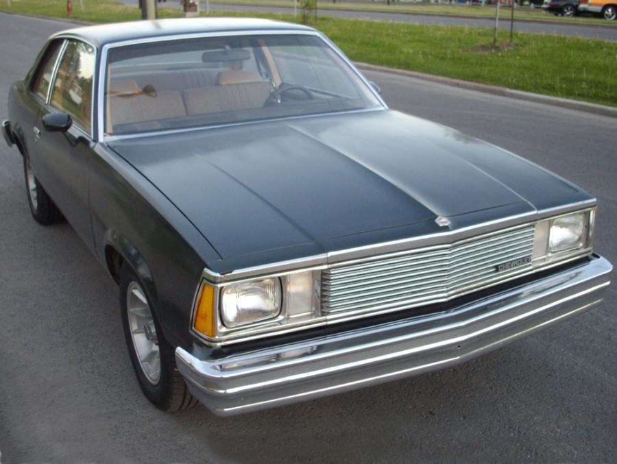 Chevrolet Malibu купе, 1981, 1 поколение [3-й рестайлинг] - отзывы, фото и характеристики на Car.ru