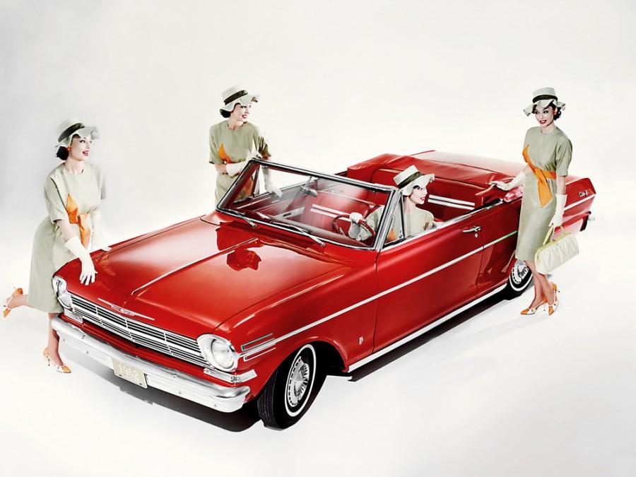 Chevrolet Nova кабриолет, 1962, 1 поколение - отзывы, фото и характеристики на Car.ru