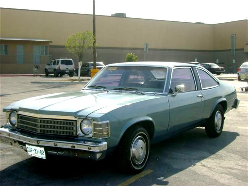 Chevrolet Nova Concours лифтбэк, 1978, 4 поколение [3-й рестайлинг] - отзывы, фото и характеристики на Car.ru