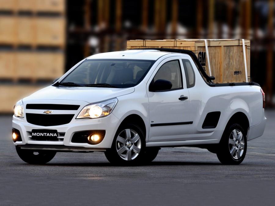 Chevrolet Montana пикап, 2010–2016, 2 поколение - отзывы, фото и характеристики на Car.ru