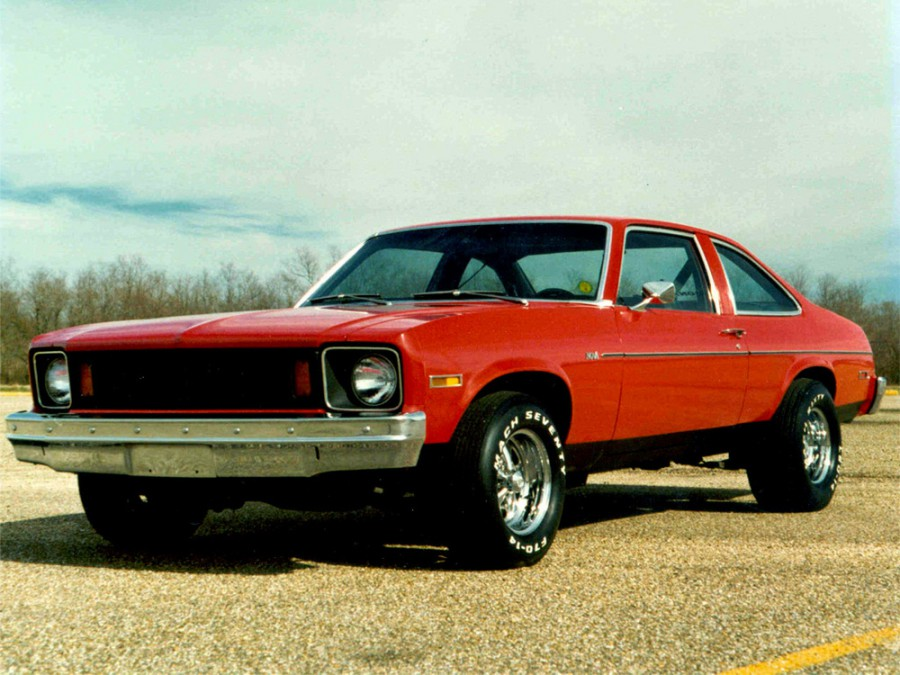 Chevrolet Nova купе, 1975, 4 поколение - отзывы, фото и характеристики на Car.ru