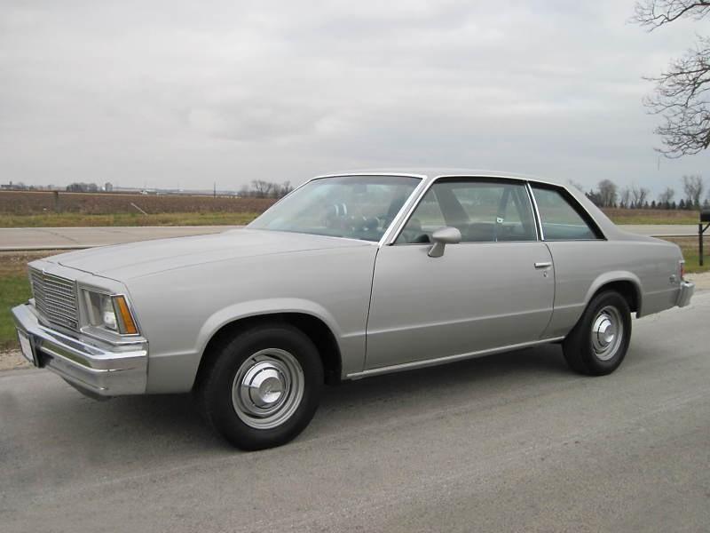 Chevrolet Malibu купе 2-дв., 1979, 1 поколение [рестайлинг] - отзывы, фото и характеристики на Car.ru