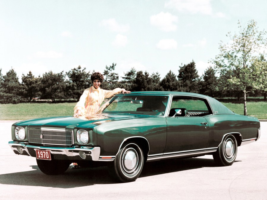 Chevrolet Monte Carlo купе, 1970, 1 поколение - отзывы, фото и характеристики на Car.ru