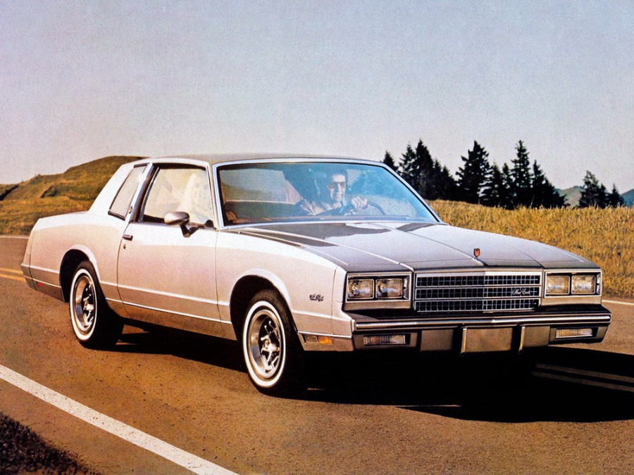Chevrolet Monte Carlo купе, 1982, 4 поколение [рестайлинг] - отзывы, фото и характеристики на Car.ru