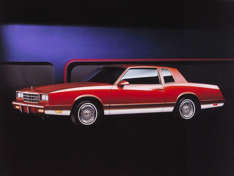Chevrolet Monte Carlo купе 2-дв., 1983–1985, 4 поколение [2-й рестайлинг] - отзывы, фото и характеристики на Car.ru