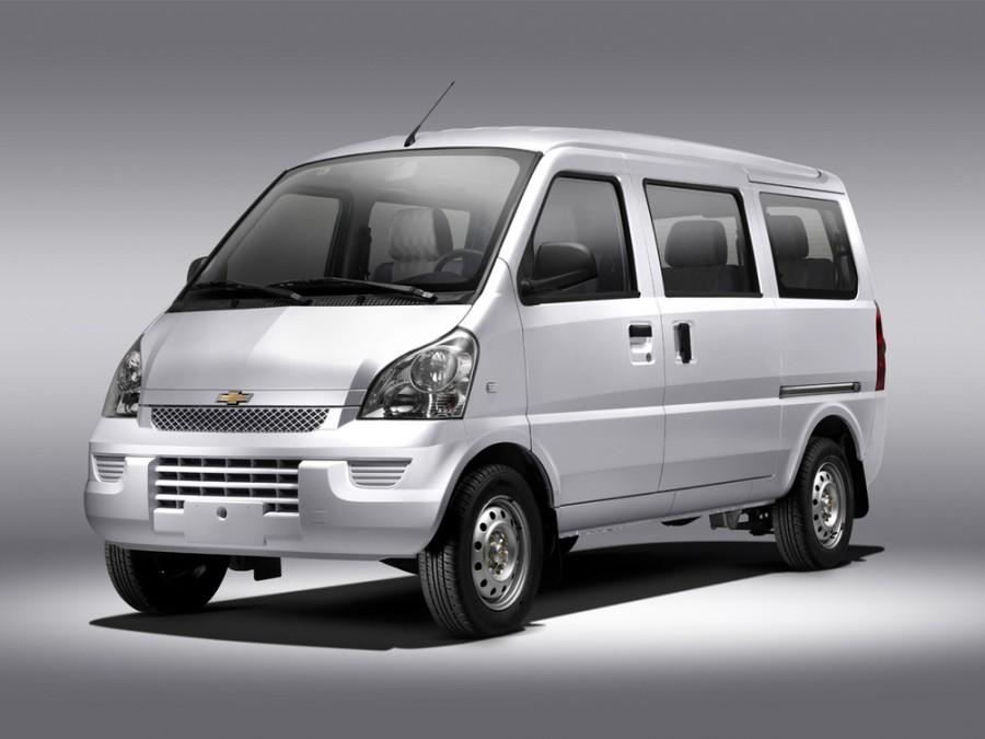 Chevrolet N300 минивэн, 2012–2016, 1 поколение - отзывы, фото и характеристики на Car.ru