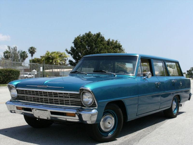Chevrolet Nova универсал, 1967, 2 поколение [рестайлинг] - отзывы, фото и характеристики на Car.ru