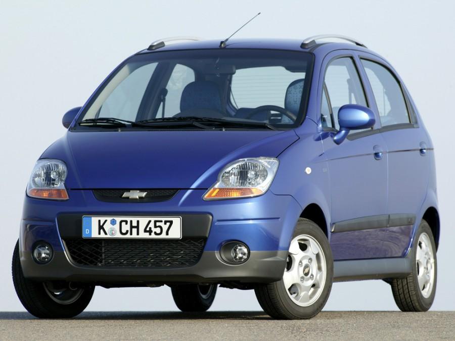 Chevrolet Matiz хетчбэк, 2008–2010, 2 поколение [рестайлинг] - отзывы, фото и характеристики на Car.ru