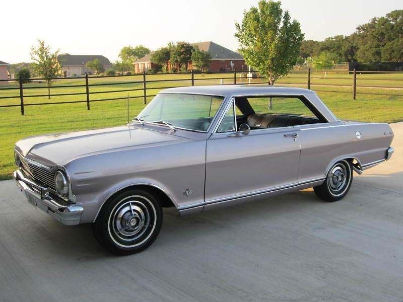 Chevrolet Nova купе, 1965, 1 поколение [3-й рестайлинг] - отзывы, фото и характеристики на Car.ru