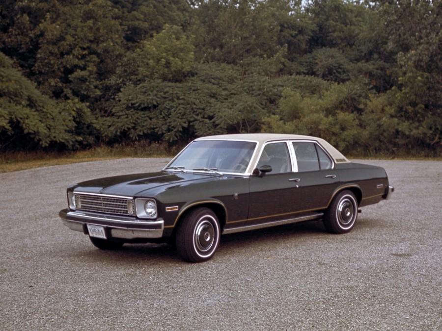 Chevrolet Nova седан, 1975, 4 поколение - отзывы, фото и характеристики на Car.ru