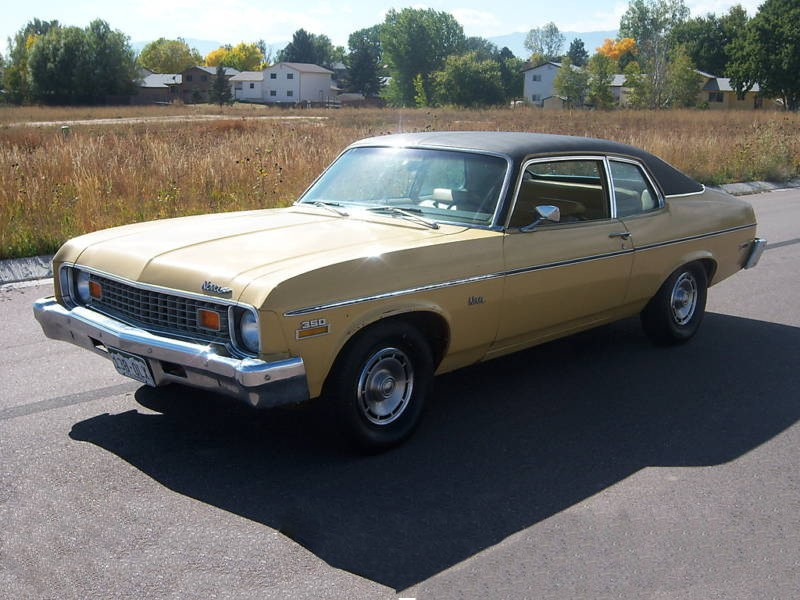 Chevrolet Nova купе, 1973–1974, 3 поколение [3-й рестайлинг] - отзывы, фото и характеристики на Car.ru