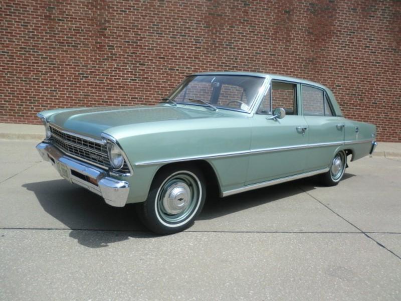 Chevrolet Nova седан, 1967, 2 поколение [рестайлинг] - отзывы, фото и характеристики на Car.ru