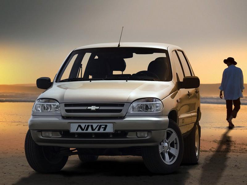 Chevrolet Niva внедорожник 5-дв., 2002–2009, 1 поколение - отзывы, фото и характеристики на Car.ru