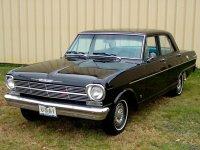 Chevrolet Nova, 1962, 1 поколение, Седан