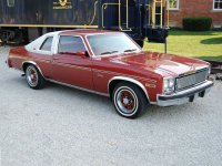 Chevrolet Nova, 4 поколение [2-й рестайлинг], Concours vinyl roof купе 2-дв., 1977
