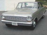 Chevrolet Nova, 1963, 1 поколение [рестайлинг], Седан