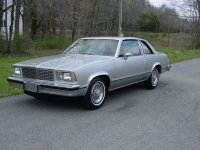 Chevrolet Malibu, 1978, 1 поколение, Classic купе 2-дв.