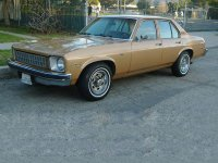Chevrolet Nova, 4 поколение [рестайлинг], Седан 4-дв., 1976–1978